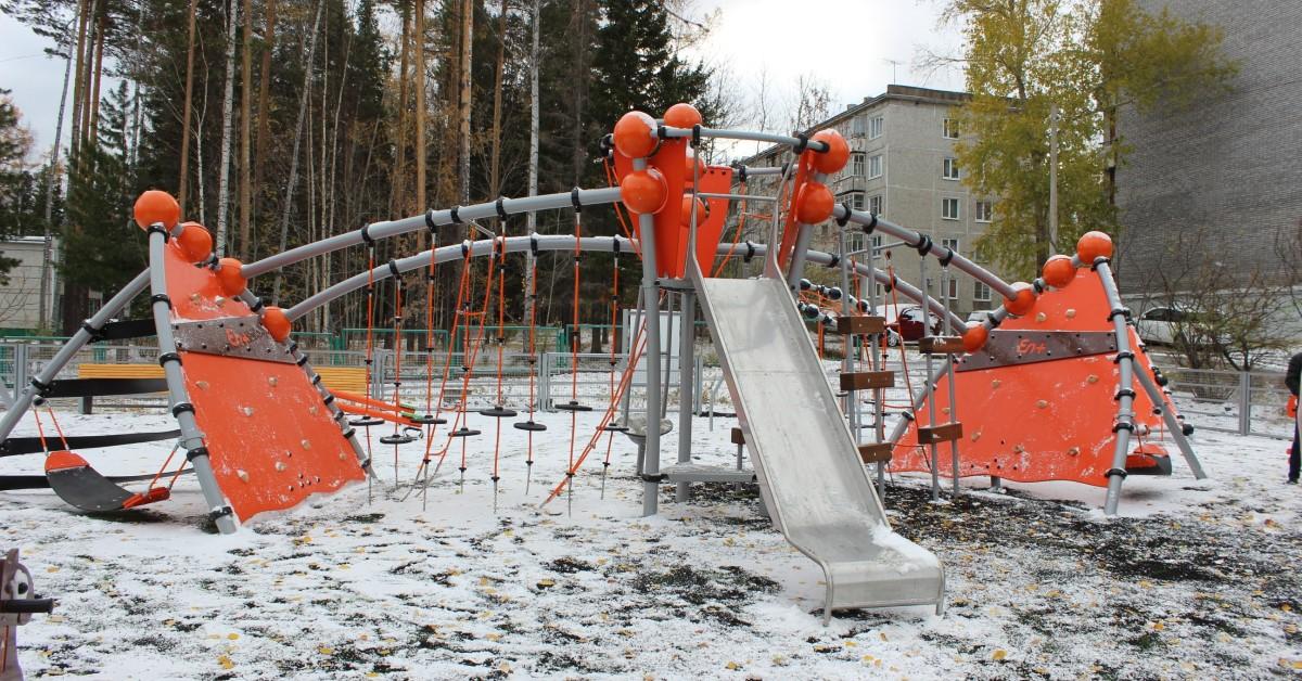 En+ Group построила в Усть-Илимске детский игровой комплекс за 5 млн рублей