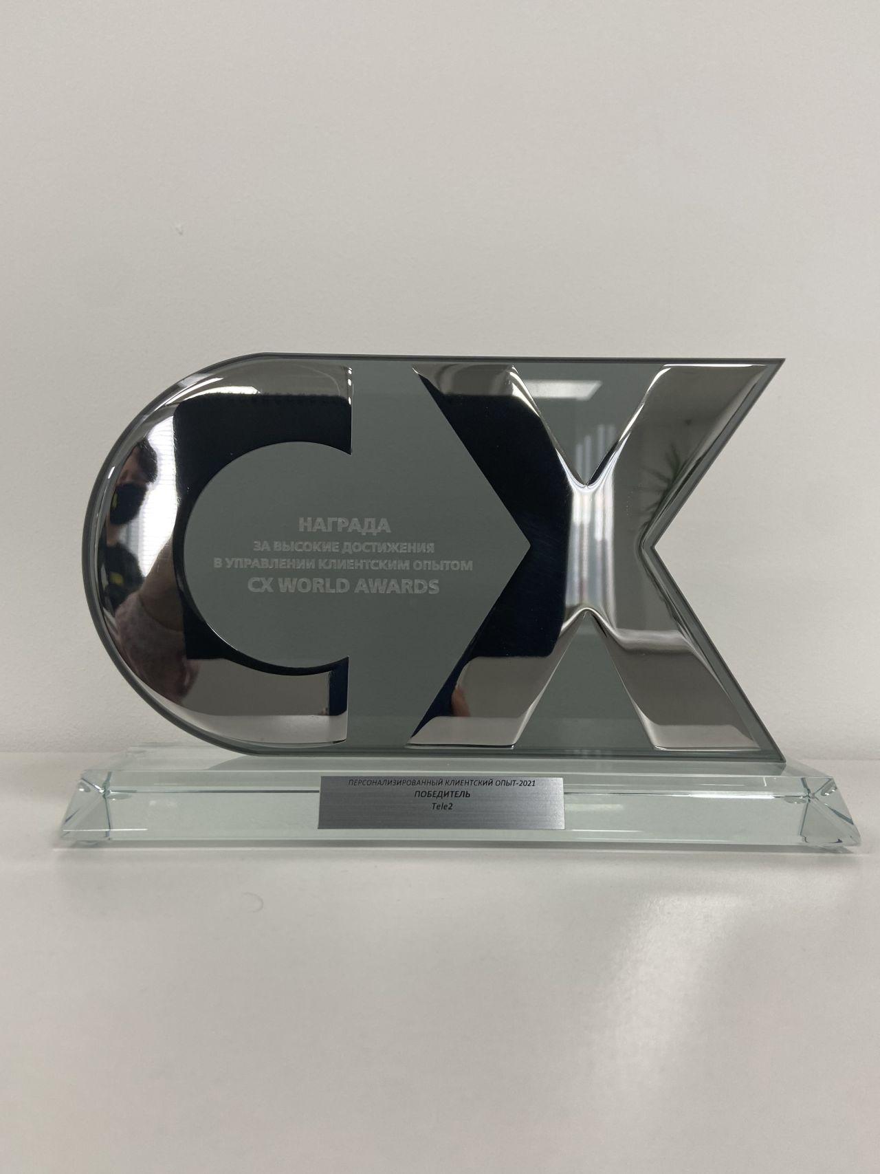 Tele2 подтвердила лидерство в индустрии клиентского опыта, победив в престижных конкурсах