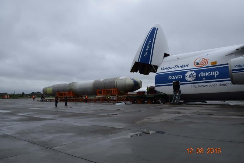 Компания «Иркут» доставила вЦАГИ фюзеляж самолета МС-21 для статических испытаний