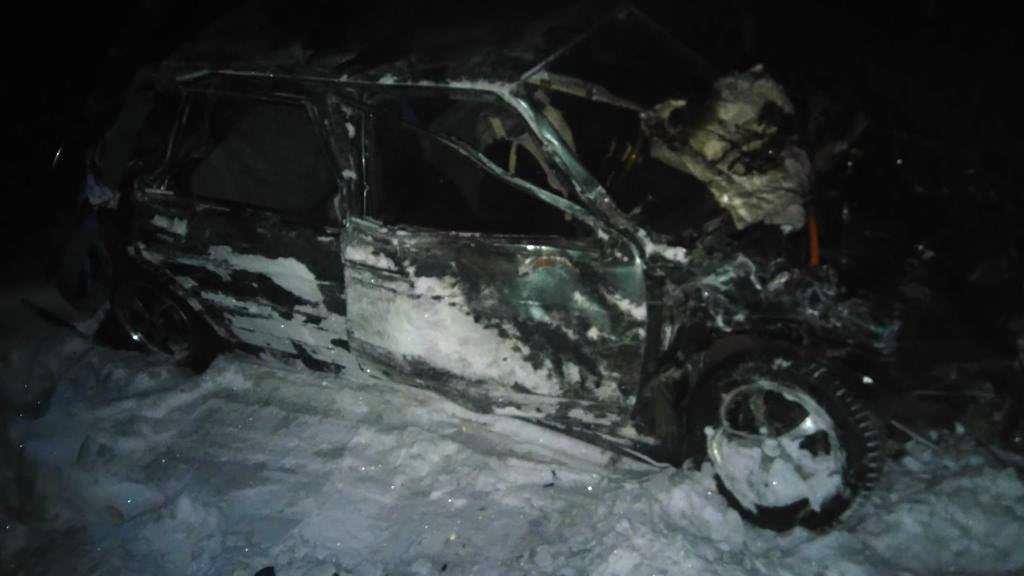ВЧунском районе шофёр ВАЗа умер после столкновения сгрузовым поездом