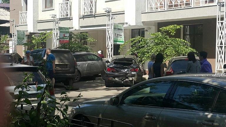 ВИркутске вмассовом ДТП столкнулись 7 авто