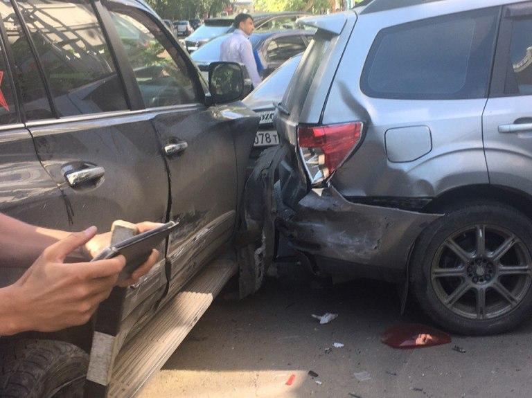 Автоледи на«Порше» спровоцировала трагедию с7 авто вцентре Иркутска