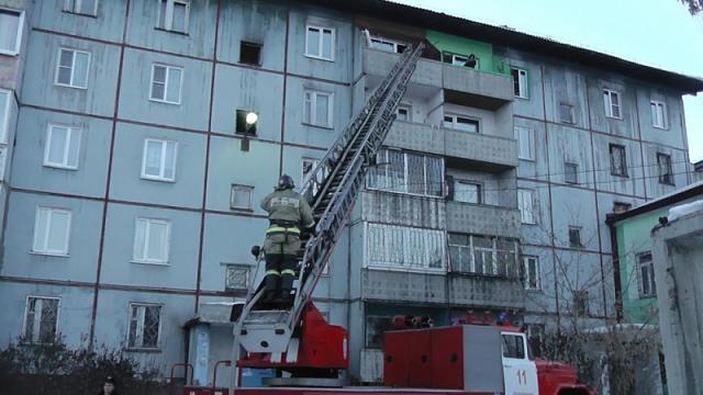 ВЧеремхово из-за шалости ребенка произошел пожар вквартире