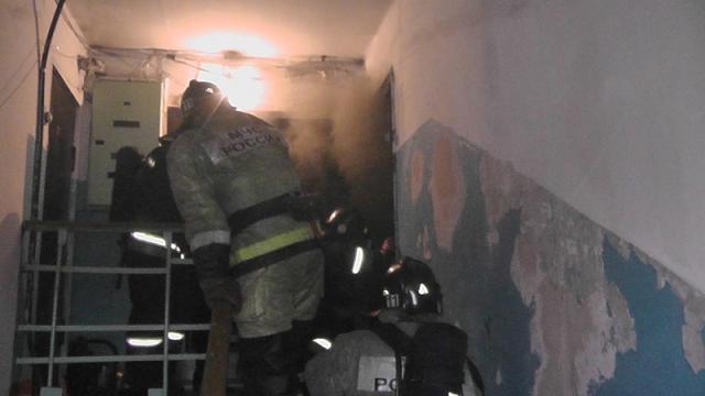 Из-за шалости 5-летнего ребенка едва несгорела квартира вЧеремхове