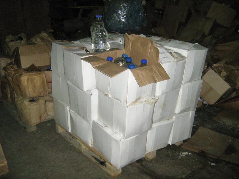 100 тонн суррогатного алкоголя изъяли вИркутске