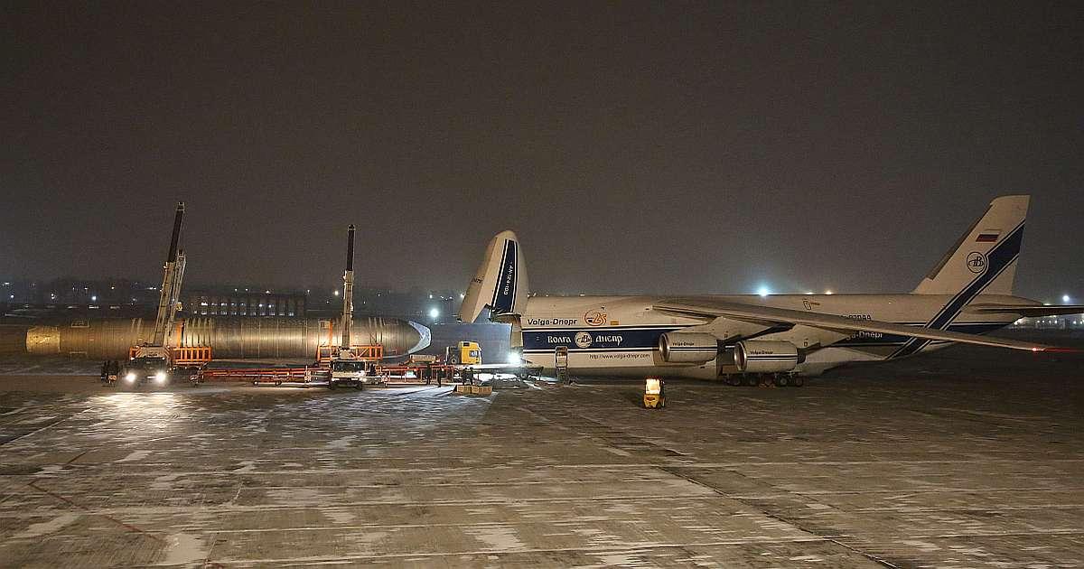 Фюзеляж МС-21 доставлен изИркутска вЖуковский для ресурсных испытаний
