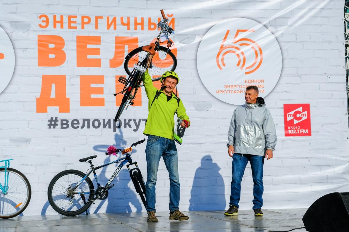 В «Энергичном велодне» En+ Group приняли участие около 1 500 иркутянВ «Энергичном велодне» En+ Group приняли участие около 1 500 иркутян