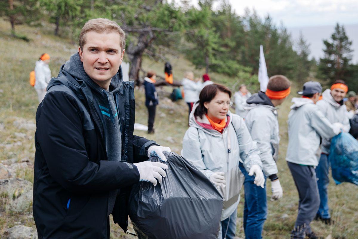 Экологическая акция En+ Group «360» состоялась на Байкале в новом формате